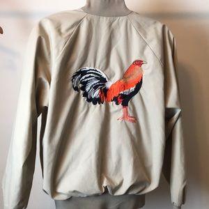 Vintage Auburn Sportswear Rooster/Cock Jacket